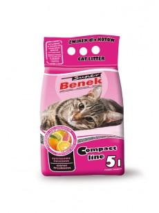 Certech Żwirek dla kota Super Benek Compact Cytrusowa Świeżość 10l