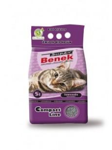 Certech Żwirek dla kota Super Benek Compact Lawendowy 10l