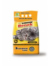 Certech Żwirek dla kota Super Benek Standard Naturalny 5l