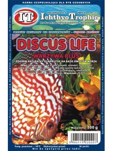 IchthyoTrophic Pokarm mrożony Discus Life Warzywa 100g
