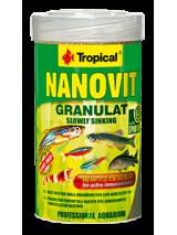 Tropical Pokarm dla ryb Nanovit granulat 100ml