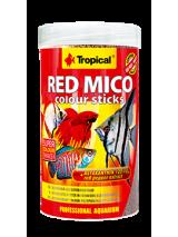 Tropical Pokarm dla ryb Red Mico Colour Sticks 100ml