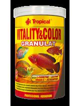 Tropical Pokarm dla ryb Vitality & Color granulat 1000ml