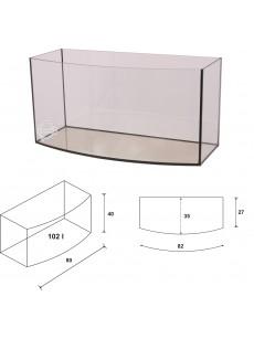 Wromak Akwarium profilowane 80x35x40 102l