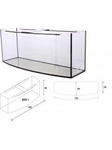 Wromak Akwarium profilowane 150x50x60 405l