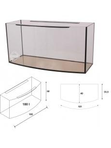 Wromak Akwarium profilowane 100x40x50 180l