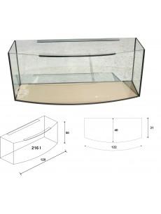 Wromak Akwarium profilowane 120x40x50 216l