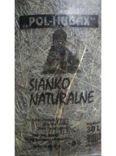 Pol Hubax Sianko dla gryzoni 30l Siano naturalne