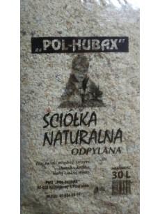 Pol Hubax Ściółka naturalna 30l Trociny odpylane